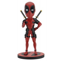 Marvel Comics Head Knocker Deadpool Classic 20 cm