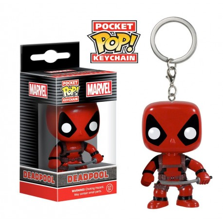 Marvel Comics porte-clés Pocket POP! Vinyl Deadpool 4 cm
