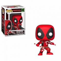Marvel Comics POP! Marvel Holiday Vinyl Bobble Head Deadpool (Candy Canes) 9 cm