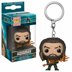 Aquaman Movie porte-clés Pocket POP! Vinyl Arthur Curry as Gladiator 4 cm