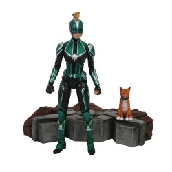 Captain Marvel Marvel Select figurine Captain Marvel Starforce Uniform 18 cm