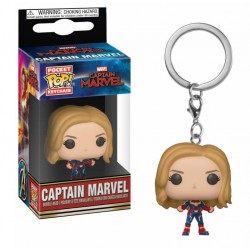 Captain Marvel porte-clés Pocket POP! Vinyl Captain Marvel 4 cm