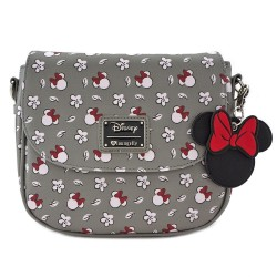 Disney by Loungefly sac à bandoulière Minnie Head & Flower Print