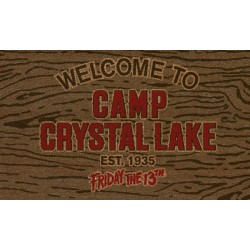 Vendredi 13 paillasson Welcome To Camp Crystal Lake 43 x 73 cm