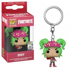 Fortnite porte-clés Pocket POP! Vinyl Zoey 4 cm