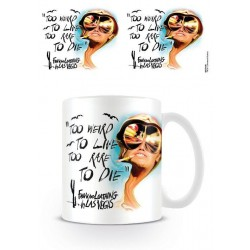 Las Vegas Parano mug Too Weird To Live