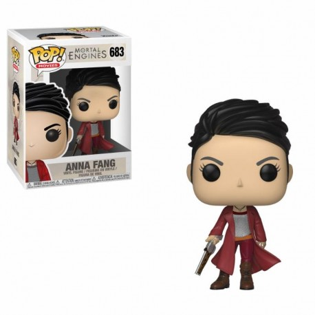 Mortal Engines Pop Movies Vinyl Figurine Anna Fang 9 Cm