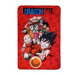 Dragonball couverture polaire Characters 100 x 150 cm
