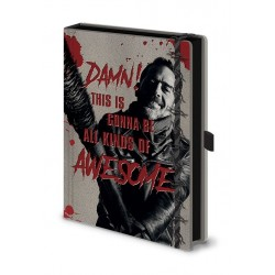 Walking Dead carnet de notes Premium A5 Negan & Lucille