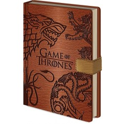 Game of Thrones carnet de notes Premium A5 Sigils