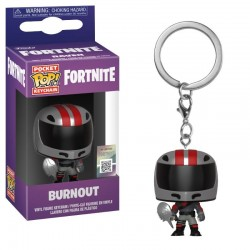 Fortnite porte-clés Pocket POP! Vinyl Burnout 4 cm