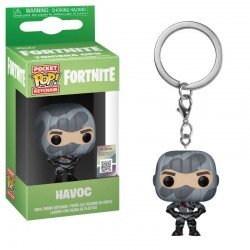 Fortnite porte-clés Pocket POP! Vinyl Havoc 4 cm