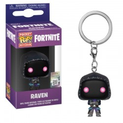 Fortnite porte-clés Pocket POP! Vinyl Raven 4 cm