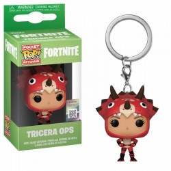 Fortnite porte-clés Pocket POP! Vinyl Tricera Ops 4 cm