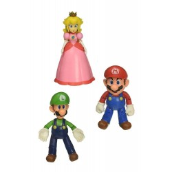 World of Nintendo pack 3 figurines Mushroom Kingdom 10 cm