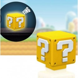 Super Mario veilleuse sonore Question Block 8 cm