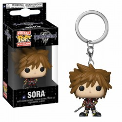 Kingdom Hearts 3 porte-clés Pocket POP! Vinyl Sora 4 cm