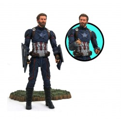 Avengers Infinity War Marvel Select figurine Captain America 18 cm