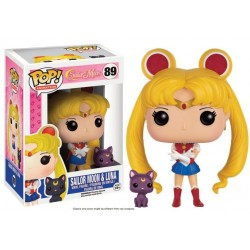 Sailor Moon POP! Animation Vinyl figurine Sailor Moon & Luna 9 cm