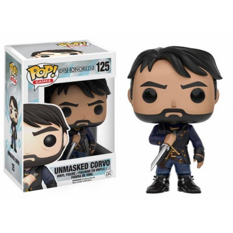 Dishonored POP! Games Vinyl Figurine Corvo Unmasked 9 cm