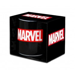 Marvel mug Box Logo