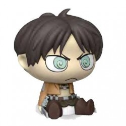 Attack on Titan tirelire Chibi PVC Eren 16 cm