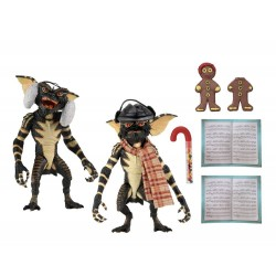 Gremlins pack 2 figurines Christmas Carol Winter Scene Set 2 15 cm
