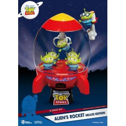 Toy Story diorama PVC D-Stage Alien's Rocket Deluxe Edition 15 cm