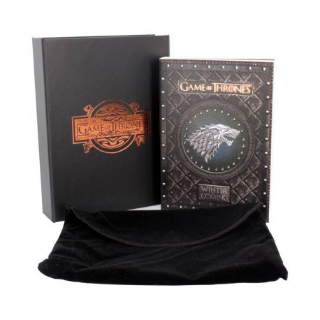 Game of Thrones journal Winter is Coming 17,5 x 14,5 cm