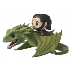 Game of Thrones POP! Rides Vinyl figurine Jon Snow & Rhaegal 18 cm