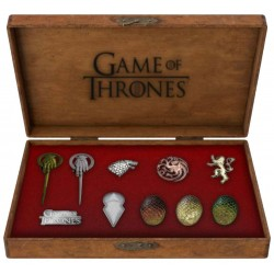 Game of Thrones set 10 pin's Deluxe Icons