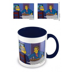 Simpsons mug Coloured Inner Steamed Hams