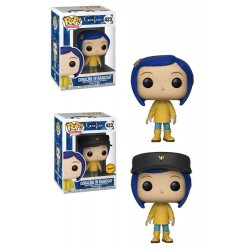Coraline POP! Movies Vinyl figurine Coraline in Raincoat 9 cm