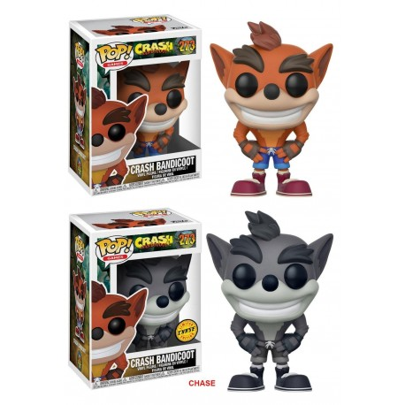 Crash Bandicoot POP! Games Vinyl figurine Crash Bandicoot 9 cm