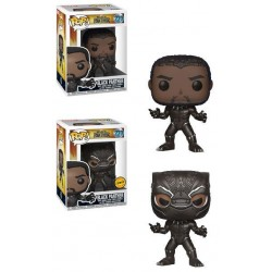 Black Panther Movie POP! Movies Vinyl figurine Black Panther 9 cm
