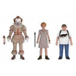 « Il » est revenu 2017 pack 3 figurines Pennywise, Ben, Beverly 10 cm
