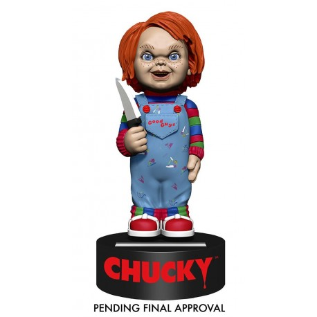 Jeu d'enfant Body Knocker Bobble Figure Chucky 16 cm