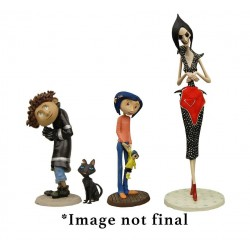 Coraline pack 4 figurines PVC Best Of 3-14 cm