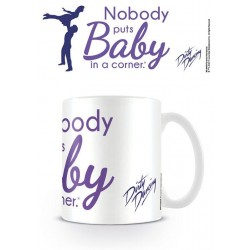 Dirty Dancing mug Nobody puts Baby in a Corner