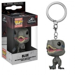 Jurassic World 2 porte-clés Pocket POP! Vinyl Blue 4 cm