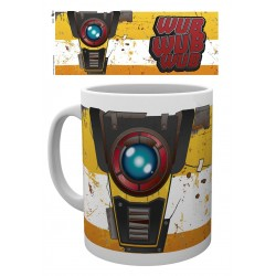 Borderlands 3 mug Claptrap