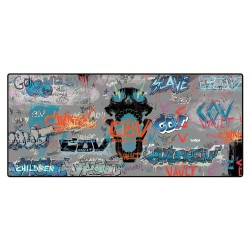 Borderlands 3 tapis de souris Oversize Graffiti