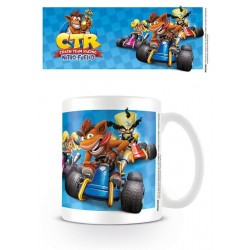 Crash Team Racing mug Race