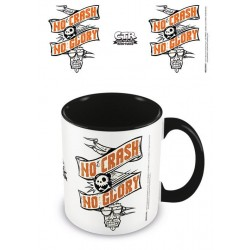 Crash Team Racing mug Coloured Inner No Crash No Glory
