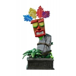 Crash Bandicoot statuette Mini Aku Aku Mask 40 cm