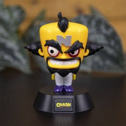 Crash Bandicoot veilleuse 3D Icon Doctor Neo Cortex 10 cm