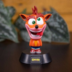 Crash Bandicoot veilleuse 3D Icon Crash Bandicoot 10 cm