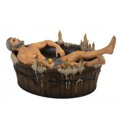 The Witcher 3 Wild Hunt statuette Geralt in the Bath 9 cm