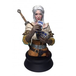 Witcher 3 Wild Hunt buste Ciri Playing Gwent 20 cm