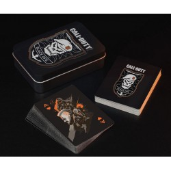 Call of Duty Black Ops 4 jeu de cartes à jouer Skull